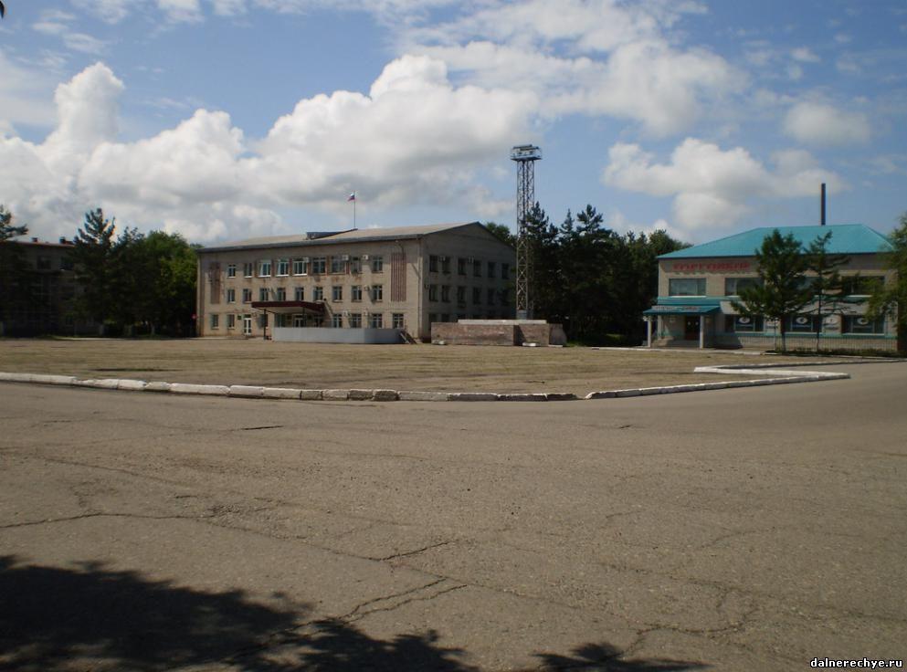 Площадь Дальнереченска